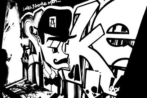 art graffity paint graffiti art black  white