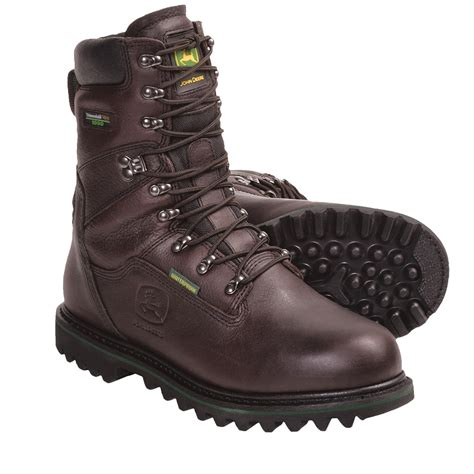 lace up work boots deere 9 quot lace up work boots for 5808u save 40