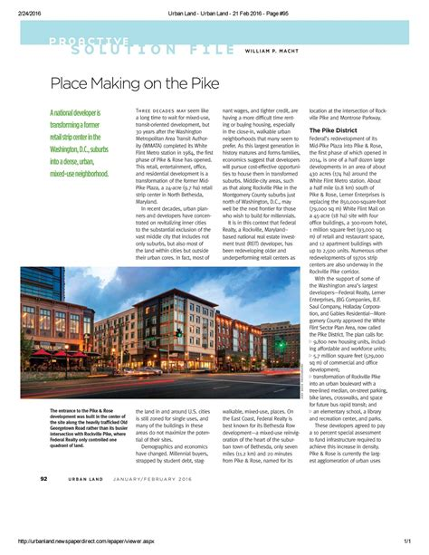 design collective in the news pike featured in land magazine 183 news perspectives 183 design collective