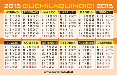 E Calendario 2015 Calendario 2015 Calendario Vettoriale