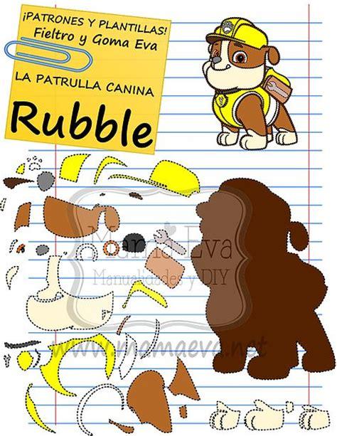 imagenes infantiles actuales plantillas personajes actuales la patrulla canina