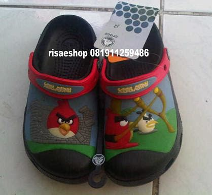 Sandal Crocs Nyala Angry Birds new collection for risaeshop