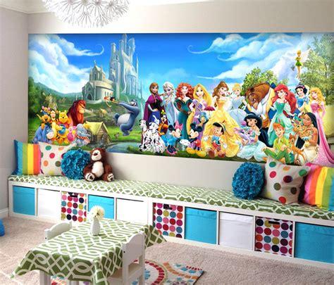 disney removable wallpaper disney characters wall mural vinyl mural wallpaper wall