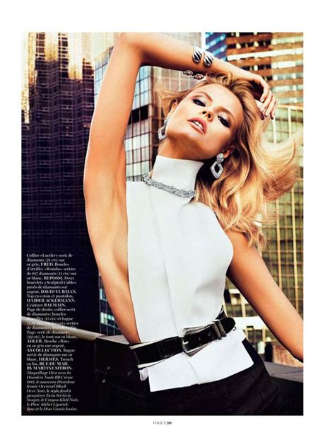 Another Photo Shoot In Ny by Magdalena Frackowiak For Vogue Freeyork