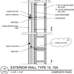 Exterior Wall Thickness P