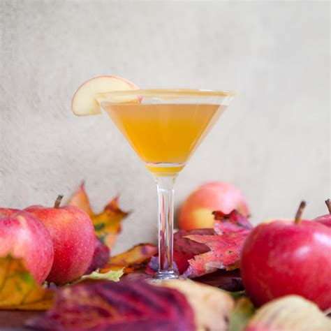 salted caramel martini recipe caramel apple cocktail recipe dishmaps