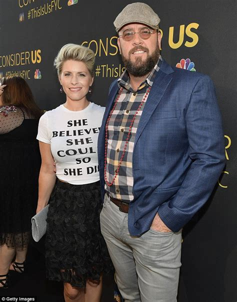 chris sullivan daily mail mandy moore and chrissy metz attend this is us panel event