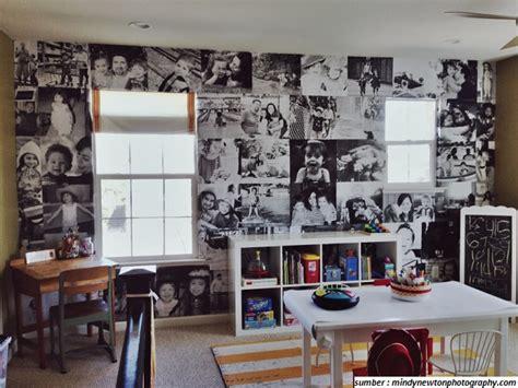 Rak Dinding 2 Susun Putih Tali Putih Silang dinding rumah lebih seru memajang foto 1000 gambar