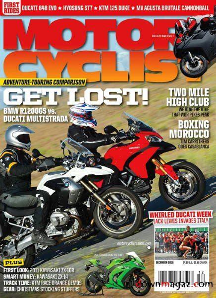 Motorradfahrer Zeitschrift by Motorcyclist December 2010 187 Pdf Magazines