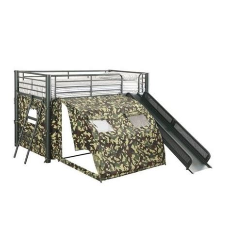 bed with slide and tent loft bed with slide bunkbeds with bottom bunk tent maxtrix playhouse tent bunk cool