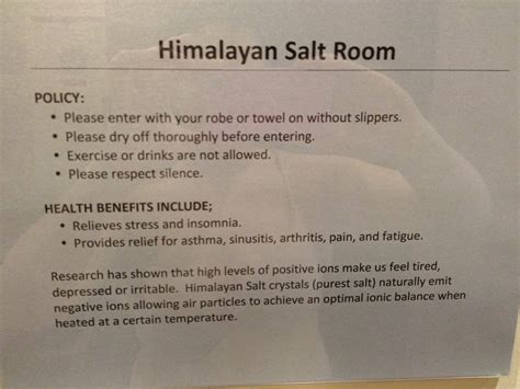 salt room benefits benefits of himalayan salt room which was my personal fave yelp