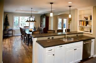 dining room kitchen ideas kitchen dining room traditional kitchen san