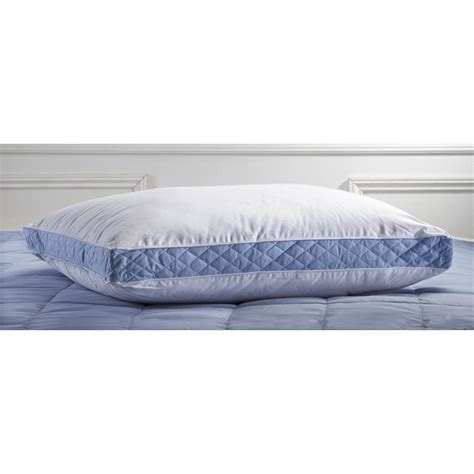 firm bed pillows perfect fit 174 firm density bed pillow 145187 pillows at sportsman s guide