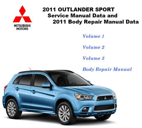 electric and cars manual 2012 mitsubishi outlander free book repair manuals 2011 2012 mitsubishi outlander sport rvr factory repair service manual other makes