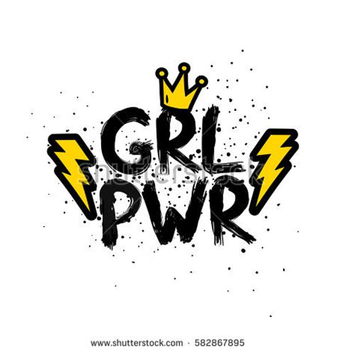 Motivational Wall Stickers girl power stock images royalty free images amp vectors