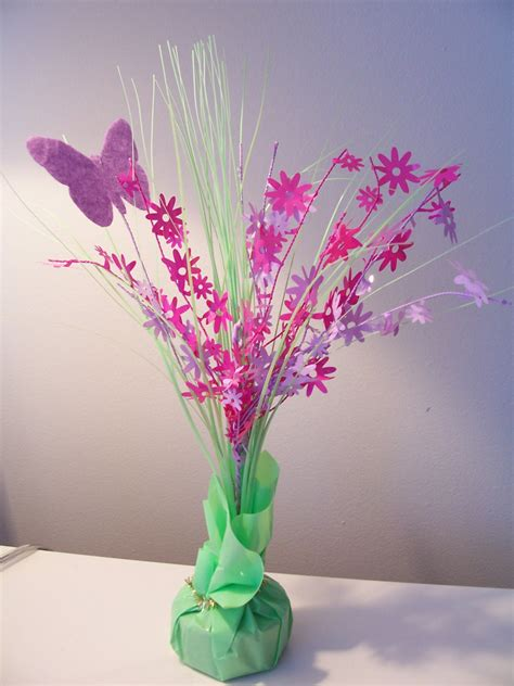 butterfly centerpieces decorations decorate a easter table simple home decoration