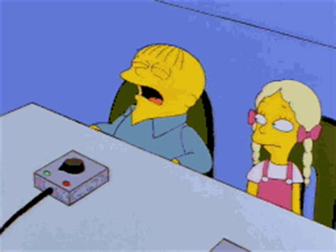 sad the simpsons gif find & share on giphy