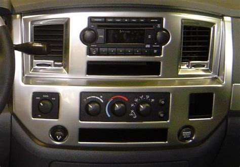 dodge ram din dash kit 06 07 08 09 10 dodge ram car stereo radio din