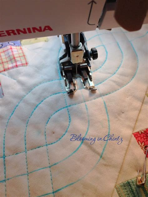 Using A Quilting Foot by I The Traditional Look That Quilted Cables Give To A
