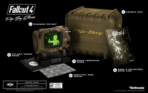 Pip Search Fallout 4 Pip Boy Demoed In Real Looks Amazing Playstation Lifestyle