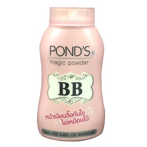 Pond S Bb pond s bb magic powder blemish powder
