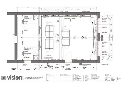 floor plan theater ideas home theatre rooms kerala design floor plans house