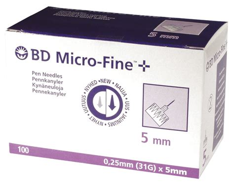 Bd Micro 5mm bd micro 5mm 31g needles j9114001315 41 00 the diabetic shop because we care