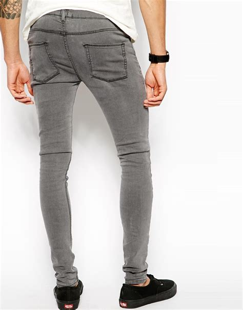light gray jeans mens gray skinny jeans men mx jeans