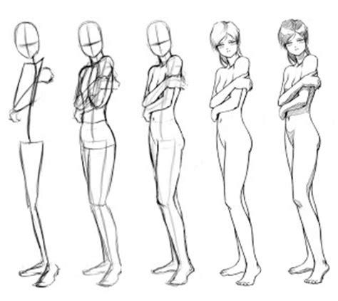 cara mudah menggambar anime