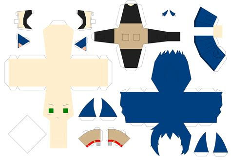 Papercraft Sonic - sonic papercraft template by huski fan on deviantart