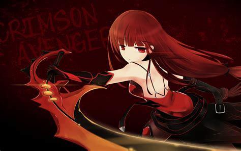 crimson avenger full hd wallpaper  background image