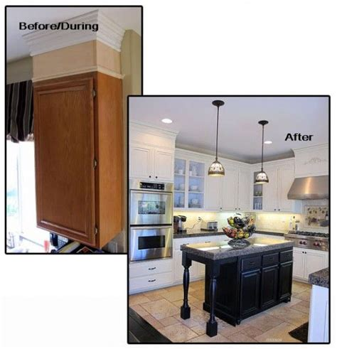 17 best ideas about crown molding kitchen on