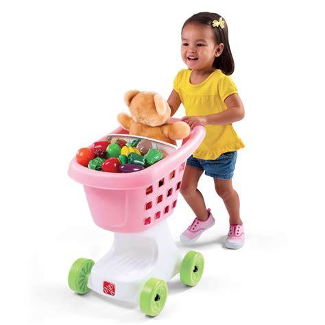 kid shopping cart helper s shopping cart pretend play step2