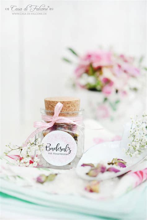 Marmelade Aufkleber Dm by Badesalz Mit Rosenbl 252 Ten Rezept 3 Verpackungsideen