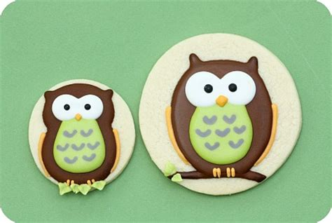 Owl Icing Decorations by How To Decorate Owl Cookies With Royal Icing Cakecentral