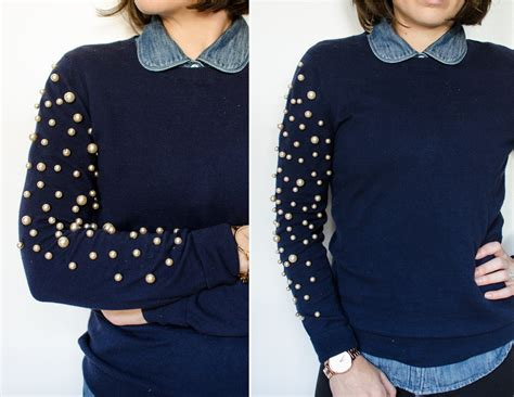 diy sweater 15 beautiful diy projects made with pearls