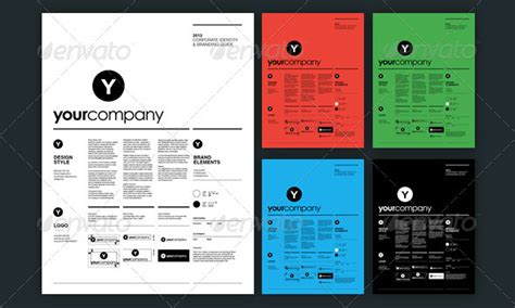 branding guidelines template 13 great brand book guideline indesign templates design