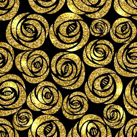 imagenes de rosas doradas fondo con flores doradas sobre un fondo negro descargar