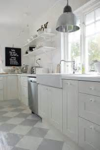 White Kitchen Floor Ideas 10 Kitchens With Open Shelving House Mix
