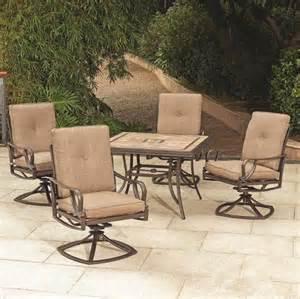 Menards Outdoor Patio Furniture Backyard Creations 174 5 Kensington Dining Collection At Menards 174