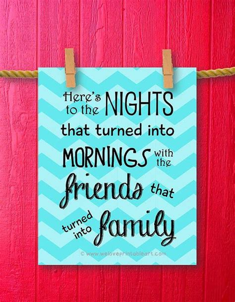 10 Signs Your Best Friend Is Turning Into A Frenemy by Family Quote Printable Best Friends Gift Family Print