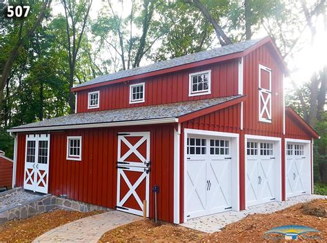 barns garages custom garage custom garage plan horizon structures