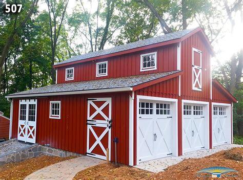 barn garages custom garage custom garage plan horizon structures