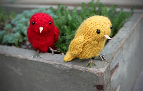 free bird knitting patterns birds to knit for free patterns grandmother s