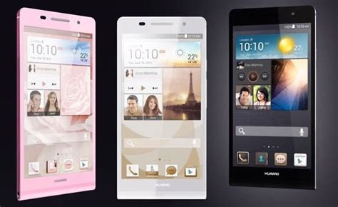 huawei themes center huawei presents world s thinnest smartphone the ascend p6