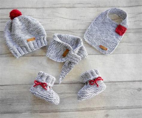 stricken babysachen strickanleitung babym 252 tze babyschuhe babyschal
