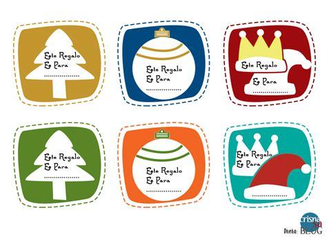 etiquetas de navidad para imprimir etiquetas para regalos de navidad imprimibles crisnasa blog