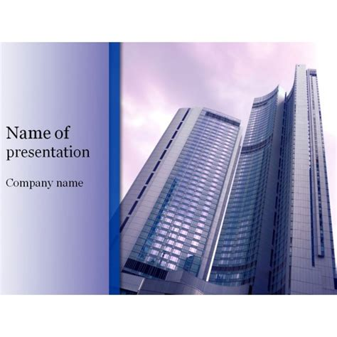 building powerpoint templates office building powerpoint template background for