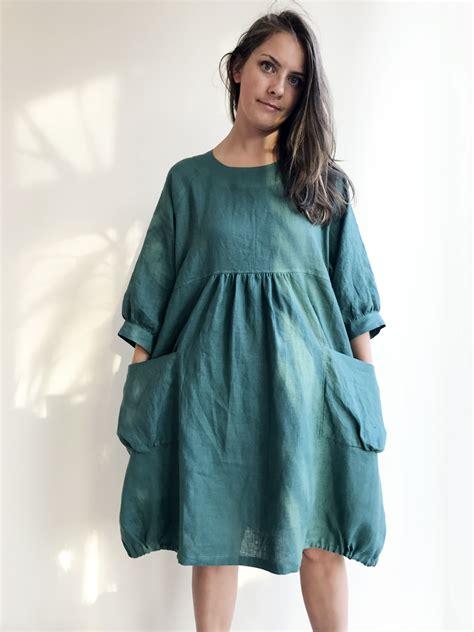 Tunic Helena Tunic 1 tunic dress linen dress linen tunic dress tunic for plus size tunic plus size
