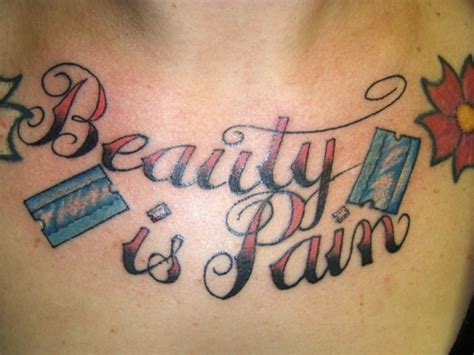 tattoo pain chest by tato beauty is pain chest tattoo